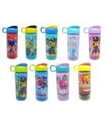 Zak Plastic Water Bottle 16oz Carry Loop Character Designs Boys & Girls ... - $6.98