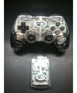 Mad Catz 2.4Ghz Wireless Controller for Playstation 2 PS2 Tested.  Clear - $26.00