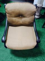 Patio Club Chair furniture Deep Seating Flamingo Swivel Rocker Aluminum Bronze image 1