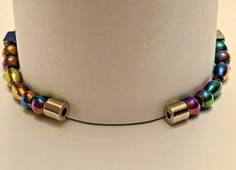 Beaded Bracelet Magnetic Hematite Clasp  7.5 inch  Single Strand  (MAG-002) image 4