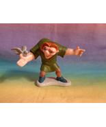 Disney Hunchback Of Notre Dame Quasimoto PVC Figure w/ Bird - HTF - $4.90