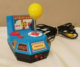 MS Pacman 2004 Namco Jakks Pacific Twist Control Joystick 5 Games Galaga - $24.20