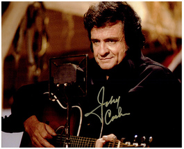 JOHNNY CASH Authentic  Original  SIGNED AUTOGRAPHED PHOTO w/ COA 5379 - $150.00