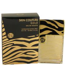 Armaf Skin Couture Gold Eau De Toilette Spray 3.4 Oz For Men  - $30.51