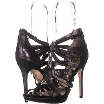 Sam Edelman Eve Dress Sandals 511, Black Suede, 8.5 US / 39.5 EU - $64.31