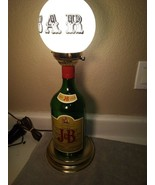 J&B  SCOTCH --- BAR LAMP---  JUSTERINI & BROOKS LTD----FREE SHIP--VGC - $87.48