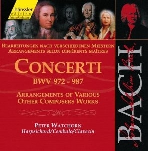 Primary image for BACH, J. S. - Vol. #111 - Concerti - Arrangements of Various Other Composers Wor