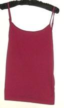 WOMEN'S RED ADJUSTABLE STRAPS TANK SIZE XL - $8.00