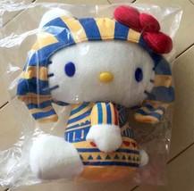 Hello Kitty Egypt Tutankhamun Plush Doll Stuffed Sanrio Japan Cosplay Kawaii New - $49.21