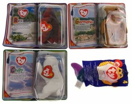 McDonalds Toys TY Beanie Baby Bear Germania Rex Chilly Inch Lot 4 Intern... - $4.39
