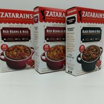 2 Boxes Zatarain's Red Bean Seasoning Mix 1 Box Mix Black Bean Mix 7 oz. Ea - $13.08