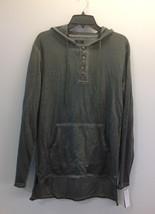 $60 American Rag Men's Henley Sweatshirt, Calm Sage, Size XL - $24.74