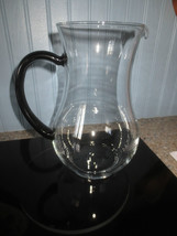 Sleek CLEAR PITCHER w/BLACK HANDLE - 5-6 Cup Capacity - $8.91