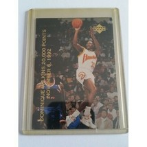 1992-93 Upper Deck #SP2 20,000 Points/Dominique Wilkins Nov. 6, 1992/Jordan - $3.75