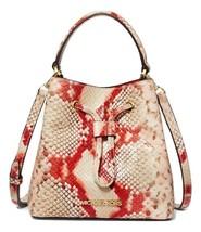 MICHAEL MICHAEL KORS Suri Small Python Embossed Crossbody Bag MSRP: $348.00 - $168.29