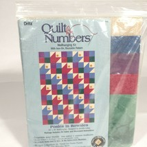 Posies in Rowsies wall hanging quilt kit quilt by numbers - $34.39