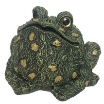 Garden Beautification Tool Eight Inches Green Tone Fiberglass Toad Yard ... - $47.46