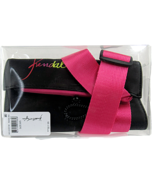 Kendall & Kylie Makeup Brush Holder Waist Belt Black & Hot Pink 8 x 4 In... - $10.53