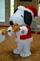 "HALLMARK ""BELL RINGER SNOOPY"" MUSICAL PLAYS ""Deck the halls"" - $19.79"