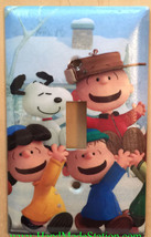 Peanuts Snoopy Charlie Brown Lucy Light Switch Outlet wall Cover Plate decor image 1