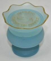 Vintage Imprevu Creme Parfum by Coty Blue and Gold Jar  Dried up / Cream... - $48.49