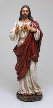 Sacred Heart of Jesus Statue God's Divine Love For Mankind - $27.71