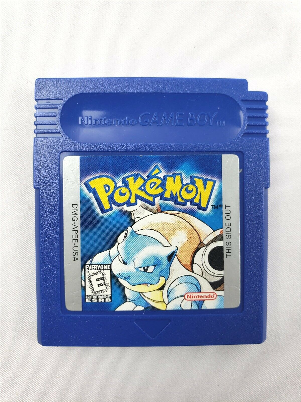 Pokemon: Blue Version Nintendo Game Boy 1998 Authentic, Saves