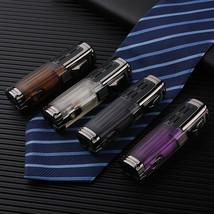 Triple Jet Torch Cigar Lighter Refillable Butane Gas Windproof Flame Lig... - $22.52