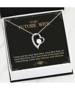 To My Future Wife Forever Love Necklace, Engagement Gift for Future Wife... - $39.99