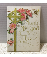 "Vintage ""Nearer My God To Thee"" Sarah Flower Adams Angel Illustrations Book - $15.00"