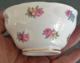 Beautiful Vintage Adderley Handless Sauce Cup - Floral Pattern- VGC - BE... - $14.84