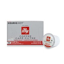 illy K-cup Single Serve Coffee Pods (Medium Roast, 6 Boxes) - $78.39