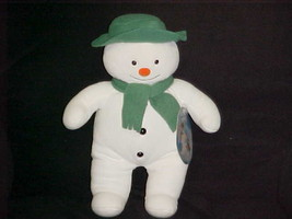 """15"""" Raymond Briggs The Snowman Plush Stuffed Toy With Tags By Eden Toys ... - $93.49"""