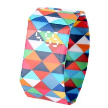 ed Squares Paper Watch Durable DuPont Paperwatch Women Digital Time - $5.08