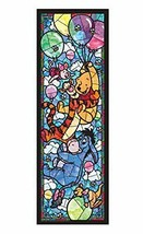 456-piece jigsaw puzzle Winnie the Pooh stained glass tightly series [Stained Ar - $58.20