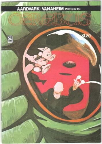 Cerebus the Aardvark Comic Book #25 AV 1981 FINE+