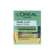 L'oreal Pure Clay Bright Mask 50ml - $18.60