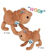 Puppy Pals Plush Dog Character Toys For Dogs With Barking Soundchip Choo... - $14.89
