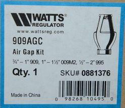 Watts 0881376 Regulator Air Gap Kit 909AGC Three Quarters by One inch image 7