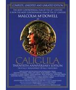 CALIGULA  Malcolm McDowell Peter O'Toole Helen Mirren Historical  DVD AL... - $7.95