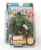 Marvel Legends Series I Hulk Action Figure Toy Biz 2002 NEW SEALED - $42.08