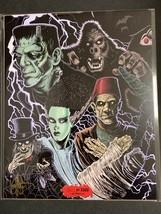 Classic Monsters - Bam Box horror Art Print by Ken Haesar /2000 - Panel ... - $18.00