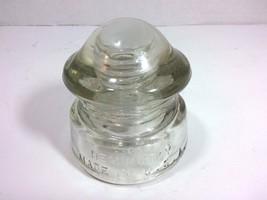 Vintage HEMINGRAY 1-C-4 D-510 Glass Electrical Insulator (Transp., Made ... - $19.75