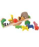 Wooden Montessori Kids Toy Animals Educational Balance Baby Wood Learnin... - $26.17