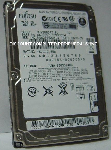 "NEW MHV2080AT Fujitsu 80GB 2.5"" 9.5MM IDE 44PIN Hard Drive Our Drives Work"