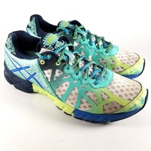 Asics Gel Noosa Tri 9 Size 9.5 Women's Sneakers Running Shoes White Blue... - $39.99