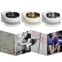 Stainless Steel Ashtray Creative Wall Mounted Bathroom Ash Storage Portable Box image 5