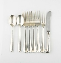 STERLING SILVER WILLIAMSBURG QUEEN ANN 8 PC FLATWARE SET - $1,367.69