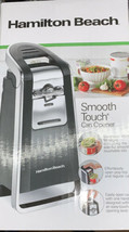 Hamilton Beach 76606Z Smooth Touch Can Opener, Black & Chrome Original Box - $44.10