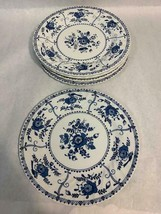 Indies Made in England by Johnson Bros Ironstone Dinner Plates Lot of 6, 2 sizes - $128.69